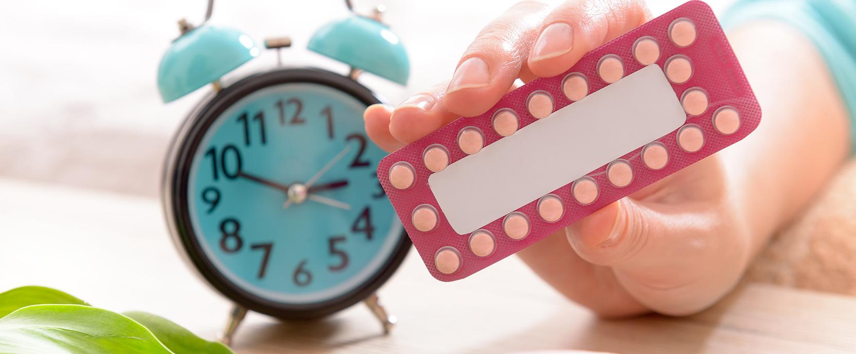 overgangsverschijnselen en de pil