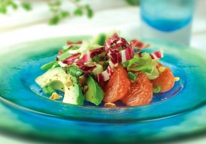 Avocado- en grapefruitsalade
